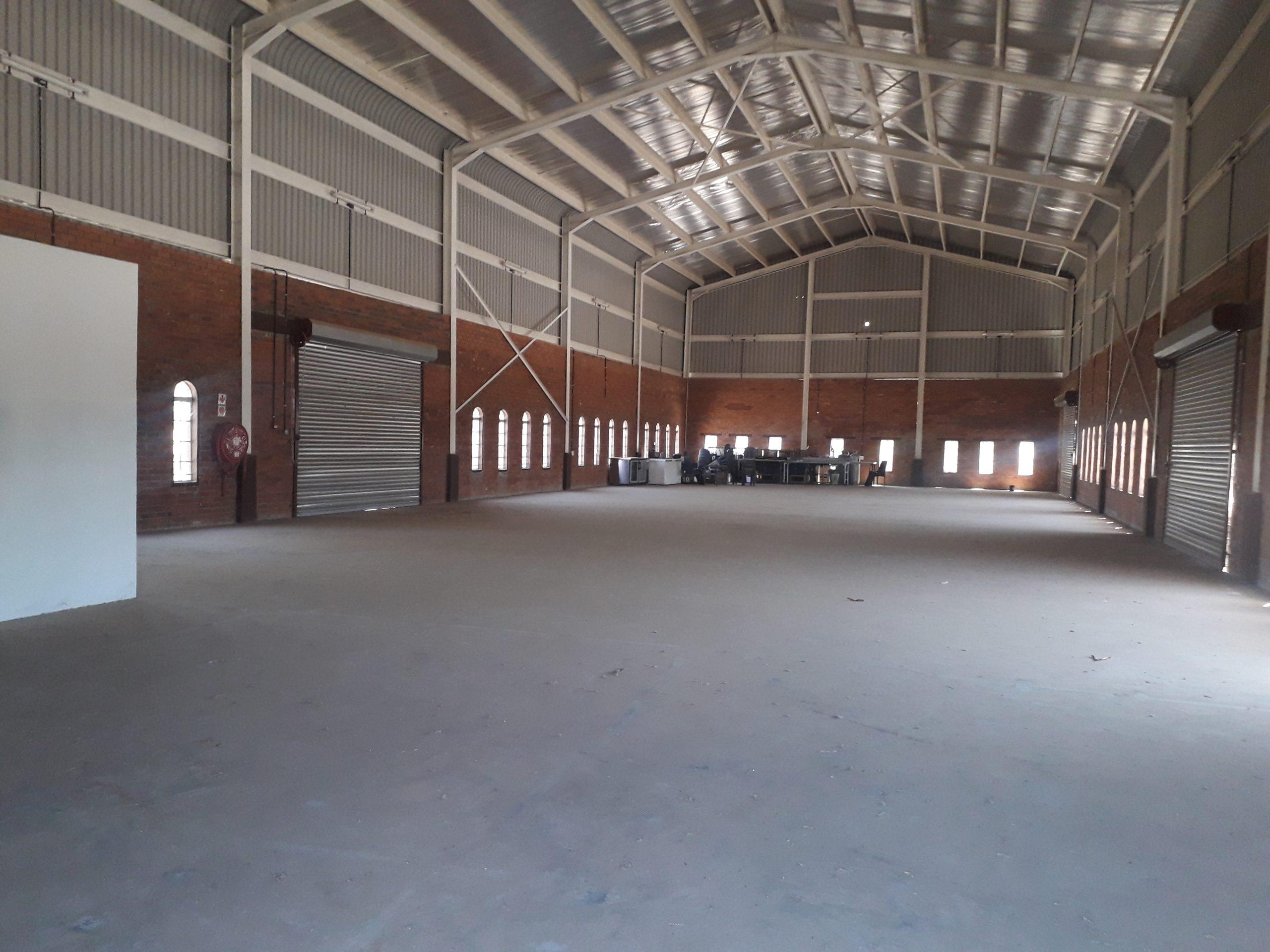 Massive Block 3 Industrial Warehouse